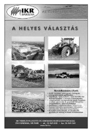 a Magyar Szabadalmi Hivatal elnöke - Országos Mezőgazdasági ...