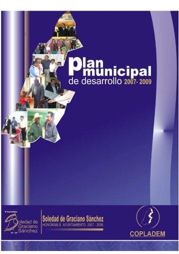 Plan Municipal de Desarrollo 2007-2009 - Municipio Soledad de ...