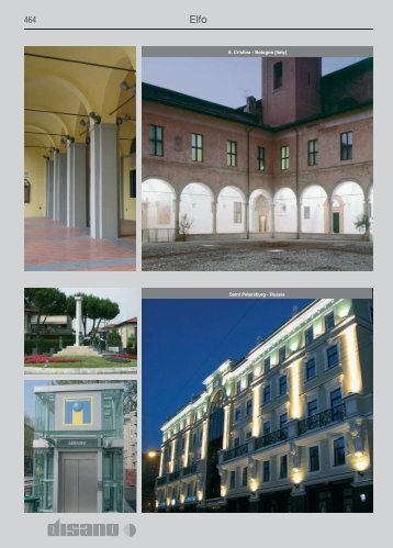 S. Cristina - Bologna (Italy) Saint Petersburg - Russia - Comlux