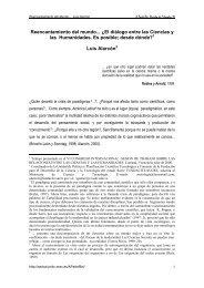 Reencantamiento del mundo - Ministerio de Educación, Cultura y ...