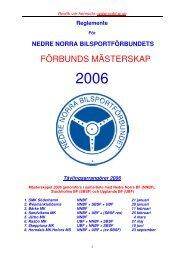 Reglemente 2006