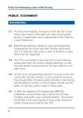 Policy for prosecuting cases of bad driving - Crown Prosecution ... - Page 3