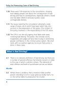 Policy for prosecuting cases of bad driving - Crown Prosecution ... - Page 5