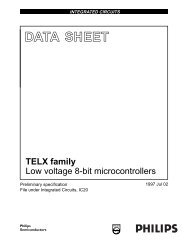 TELX family Low voltage 8-bit microcontrollers