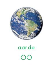 Woordkaarten groot en woordstukjes wereld - Juf Janneke