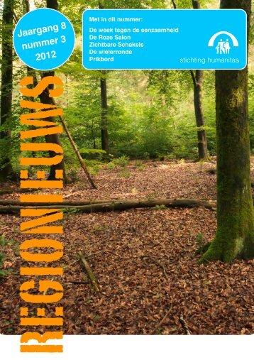 Regionieuws, jaargang 8, nr. 3, 2012 - Stichting Humanitas