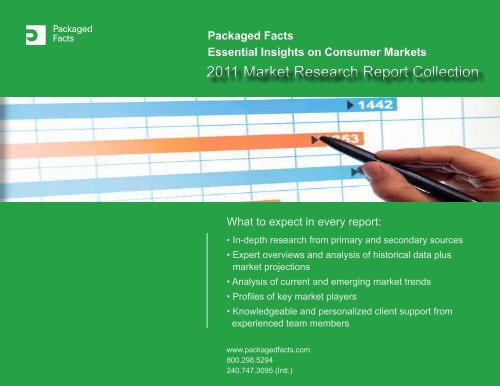 Packaged Facts Essential Insights On Consumer Markets
