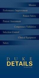 D u k e Details - Advanced Clinical Practice - Duke University