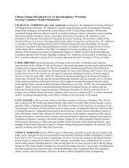 Steering Committee Membership - The National Academies