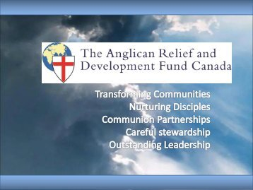 ARDFC - Anglican Network in Canada