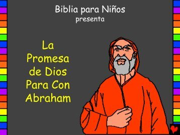 Promesa para Abraham - Bible for Children