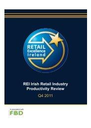 Q4 2011 REI Irish Retail Industry Productivity Review