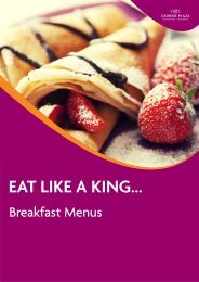 Click here to download our Breakfast Menus - The Rosebank