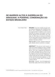 de barrios altos à guerrilha do araguaia: a possível ... - BuscaLegis