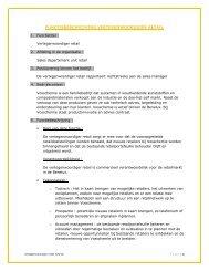 functiebeschrijving vertegenwoordiger retail - Vosschemie