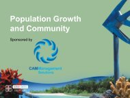 Population Growth and Community