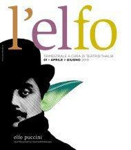 Elfo News 01 2009|2010 - Teatro dell'Elfo - Elfo Puccini
