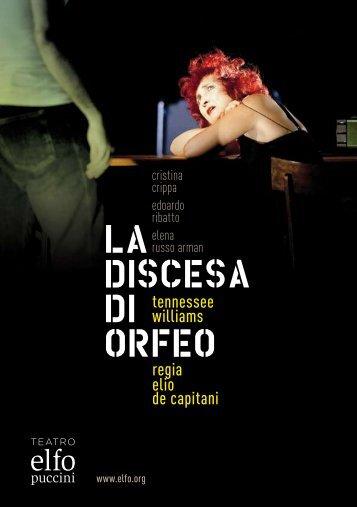 programma di sala 12/13 - Elfo Puccini