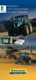 PRECISION LAND MANAGEMENT FRA NEW HOLLAND