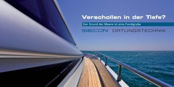Yachten Folder De - Secon