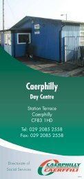Caerphilly Day Centre (PDF 1.4mb)