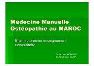 Dr Jacques MONIERE Dr Abdelkader SARIF - sofmmoo