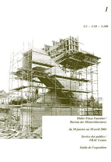 Livret d'exposition - FRAC Centre