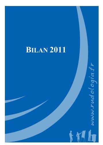 rapport d'activite 2011 - Rudologia