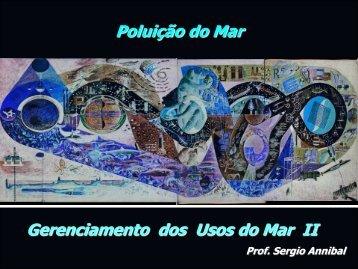 Poluição do Mar Gerenciamento dos Usos do Mar II - Instituto de ...