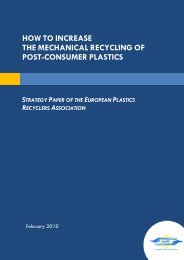 how to increase the mechanical recycling of post-consumer plastics