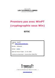 WinPT - premiers pas ... - Globenet