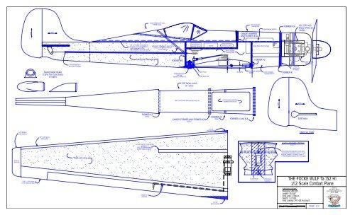 THE FOCKE WULF Ta 152 H1 1/12 Scale Combat Plane - RCGroups com