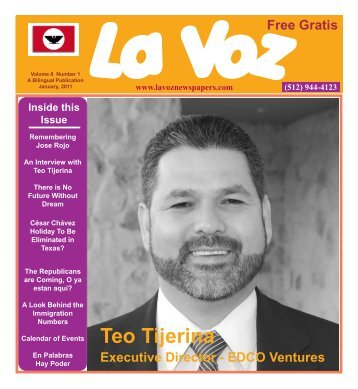 La Voz de Austin January 2011.pmd - La Voz Newspapers