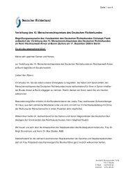 Verleihung des 10. Menschenrechtspreises des Deutschen ...