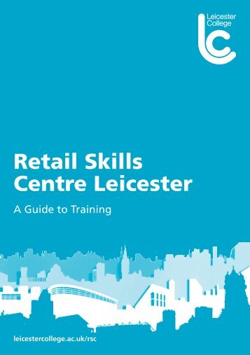 Retail Skills Centre Leicester - Leicester College