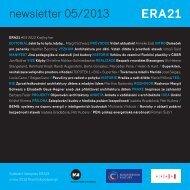 newsletter 05/2013 - Era21