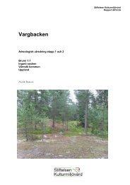 Stiftelsen Kulturmiljövård Rapport 2012:24 - KMMD