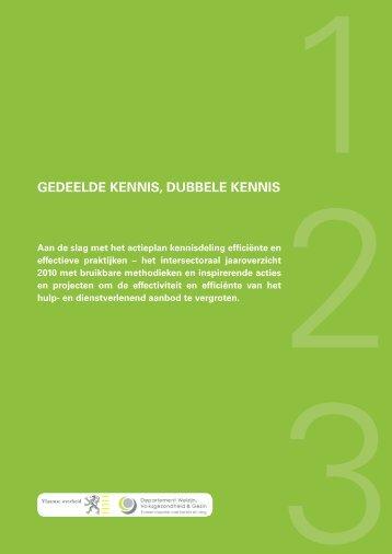 GEDEELDE KENNIS, DUBBELE KENNIS - Vlaanderen.be