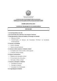 21) SOCIOLOGIA - Ensino Médio - Secretaria de Educação de ...