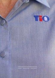 TIO 2007 Annual Report