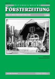 Ausgabe 2/2003 - Der Verband Österreichischer Förster