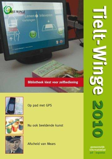 infoblad tielt-winge juli augustus 2010 - gemeente Tielt-Winge