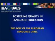 R. Rossner - Fostering quality in language education - NelliP - Pixel