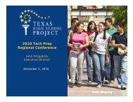 2010 Tech Prep Regional Conference - RGV LEAD