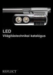 LED Világítástechnikai katalógus - reflect