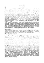 Obrazloženje izmjene i dopune programa - Grad Poreč