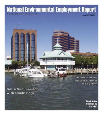 January 2005 National Environmental Employment Report