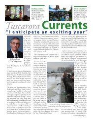 Vol 11 Issue 1 January 2011 - Tuscarora Yacht Club