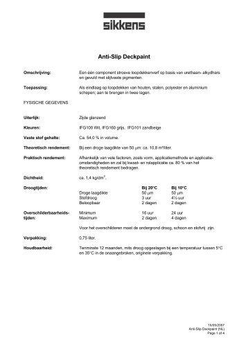 Antislip Deckpaint [nl] - Marinestore.nl