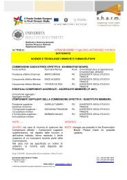 Commissione AC7FSE11 - Università degli Studi di Trieste